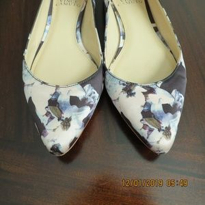 Vince Camuto Floral Fabric Flats